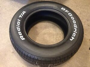 235 60 15 muscle car tire bf Goodrich radial t/a