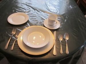 FINE CHINA- FORMAL DINNER WARE - SET OF 8