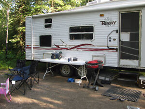 2001 Terry Lite 1/2 Tow-able 5th Wheel