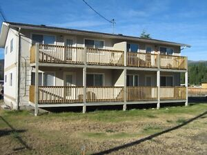 Large 1 bedroom apartment in the town of Barriere