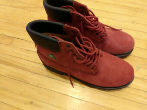 Size 11 steel toe Women's work boots $69
