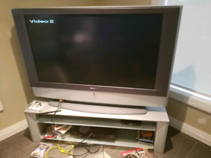 """Sony 50"""" TV and Stand"""