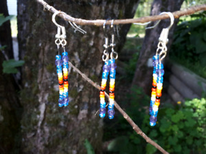 Native beaded earings