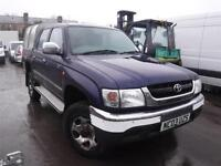 TOYOTA HILUX 270 GX DOUBLE CAB 4WD, Blue, Manual, Diesel, 2003