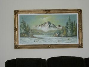 Framed Gardo oil painting for sale London Ontario image 7