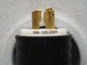 Hubbell Male Connector for Generator