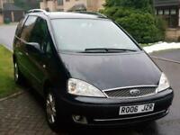 Ford Galaxy 2.8 auto 2006 MY Ghia FULLY LOADED TV SCREENS LOW MILES FSH 2 KEYS