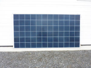 300 and 330W solar panels available- NEW ON SKIDS