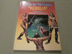 Boris Vallego Fantasy Art Techniques (Paperback) May 28 1996
