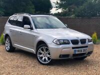 2006 06, BMW X3 3.0d auto M Sport + PANORAMIC ROOF + HEATED LEATHER
