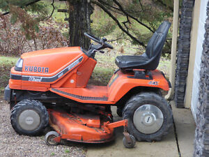 Kubota Diesel with front mount snow blower