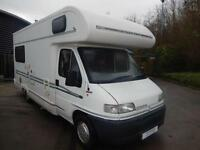 Bessacarr E625 4 berth L shape lounge motorhome for sale