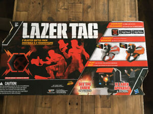 Lazer Tag 2 Blaster Battle Pack