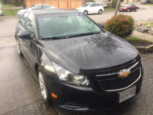 2014 Chevy Cruze nicely optioned