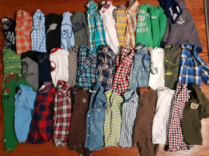 Boys bulk 12-18 and 18 month clothes