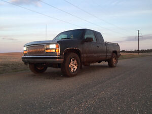 1998 Chevrolet C/K Pickup 1500 Trade for quad or dirtbike
