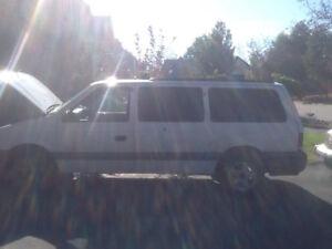 1995 Chrysler Voyager Minivan, Van