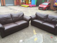 2 X Large 2 Seater Sofas, Can Deliver