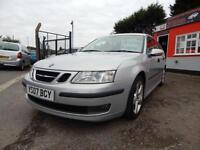 2007 Saab 9 3 1.8t Vector 5dr service history,2 keys,12 months mot,Finance av...
