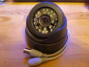 IR LED CCTV CMOS Wide Angle Security Dome Camera  700TVL 12V