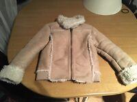 4-5 years old girls coat.
