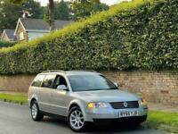 55 VW PASSAT 1.9 TDI 130 HIGHLINE ESTATE + SERV HISTORY + 1F OWNER + 2KEYS + VGC