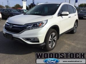 2015 Honda CR-V Touring  - Navigation -  Leather Seats -  Sunroo