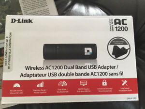 Wireless AC1200 Dual Band USB Adapter