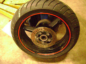 2004 Suzuki GSXR 750 Rear Wheel With MichelinTire For Sale 600