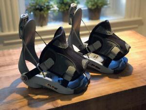 Fixations Flow S et bottes Rossignol 6- Snowboard