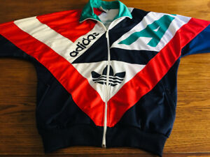 Vintage Adidas track jacket D6 F180 excellent condition
