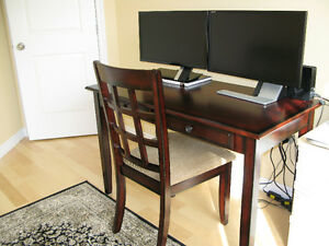 Solid wood Desk with a Chair / Office set