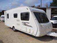 Swift Coastline 540SE 2009 4 Berth Fixed Bed Single Axle Touring Caravan