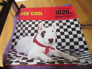 1020 Piece puzzle - English Bull Terrier (Vintage -New in box)