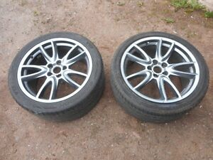 2, 2014 Mustang GT wheels, 9 X 19 inch with tires