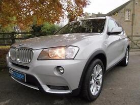 2013 BMW X3 35 3.0 DIESEL AUTO 4WD 4X4 ESTATE IN SILVER