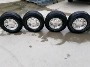 "2001 gmc sierra 16"" rims and tires"