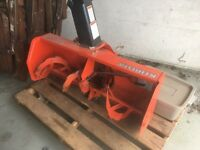 Kabota snowblower