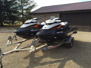 GREAT PACKAGE A PAIR OF RXT 260 SEA DOO'S