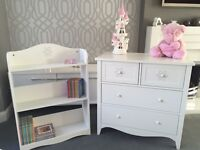 Nursery Bookcase and Chest of Drawers