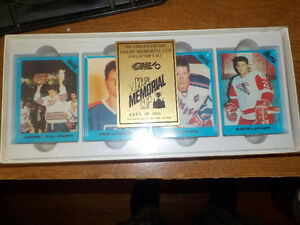 1990 memorial cup collector set Stratford Kitchener Area image 1