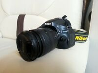 """LNIB Nikon D5100 DSLR Camera Body"" with 18-70 Lens, Strap, Acce"