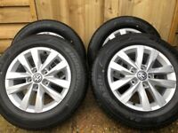 VW T5-T6 alloys and tyres