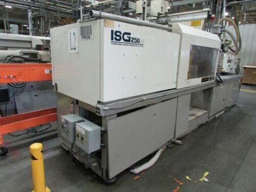 1998 250 Ton Toshiba ISG250N Injection Molding Machine