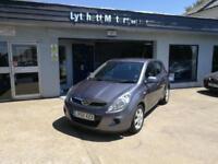Hyundai i20 1.2 2009MY Comfort 1 lady owner FSH 72k 60mpg