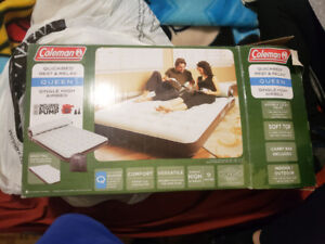 Great deal on barely used queen sized air mattress