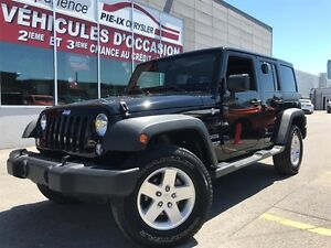 Jeep Wrangler Unlimited 4WD 4dr Sport+**A/C**+MAGS+WOW! 2015