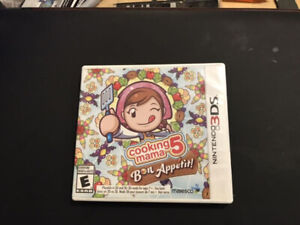 3DS Cooking Mama 5 'Bon Appetit' - VERY RARE!
