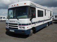 Winnebago Brave LHD RV For Sale. Low Mileage 4 Berth. Rear Fixed Bed.