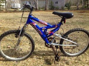 Youths bike